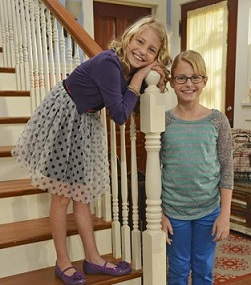 "DRAY KID TWINS TATE AND ABBY ON ""LIV AND MADDIE"""