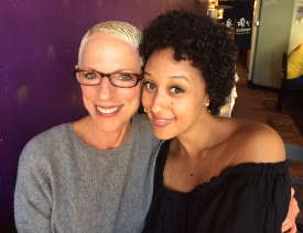 Irene and grown-up Tamera Mowry