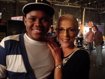 """Irene with Doc Shaw (Marcus), """"Suite Life on Deck"""""""