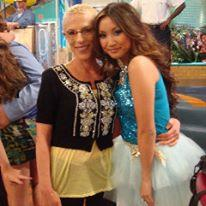 "Irene with Brenda Song (London), ""Suite Life on Deck"""