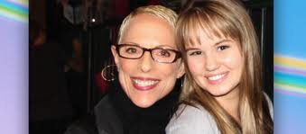"Executive Producer Irene Dreayer of ""Suite Life on Deck"" with Debby Ryan (Bailey)"
