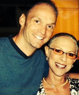 "Irene with Suite Life's ""Arwin,"" Brian Stepanek"